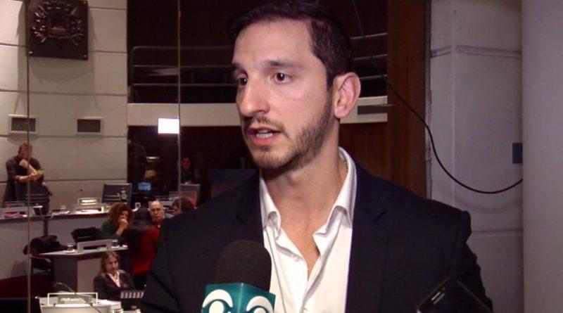 Edil Diego Rodriguez pide informes a IMM por las obras en Corredor Garzón En la Junta