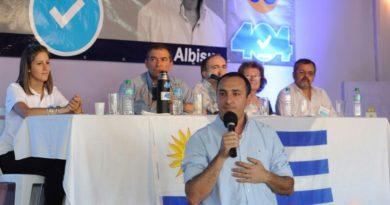 Carlos Albisu se reúne con los líderes políticos del departamento presentando propuesta sobre seguridad