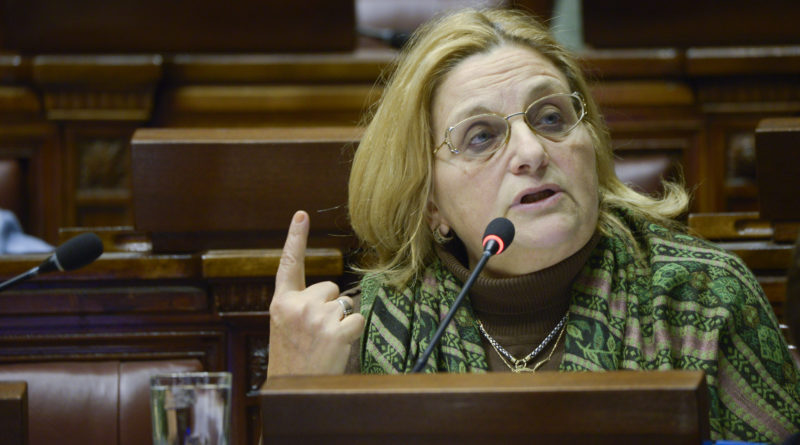 Diputada Bianchi cuestiona la actitud de la ANEP