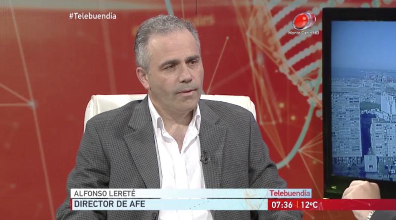 Entrevista al Director de AFE Alfonso Lereté en Teledía Primera Hora