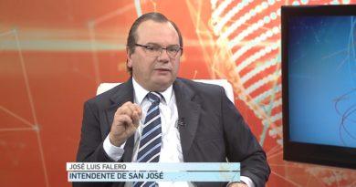 Entrevista en Teledía al Presidente del Congreso de Intendentes José Luis Falero