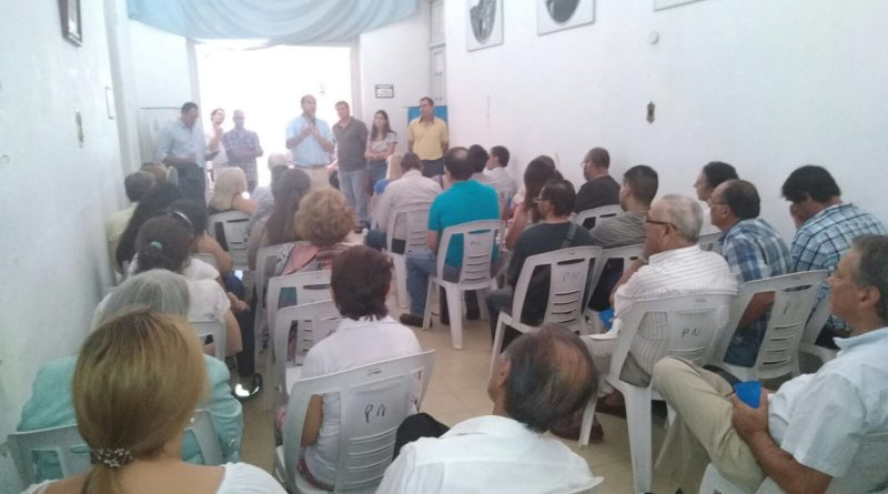 Activa agenda de Carlos Albisu y el Diputado Lema en Salto