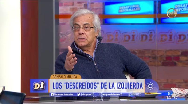 """Gonzalo Mujica: """"Llegó el momento de cambiar. Las soluciones a los problemas del país hace tiempo que no están en el programa del FA"""""""
